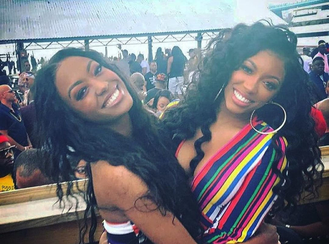Porsha Williams And Her Sister, Lauren Williams Look Breathtaking In This Photo