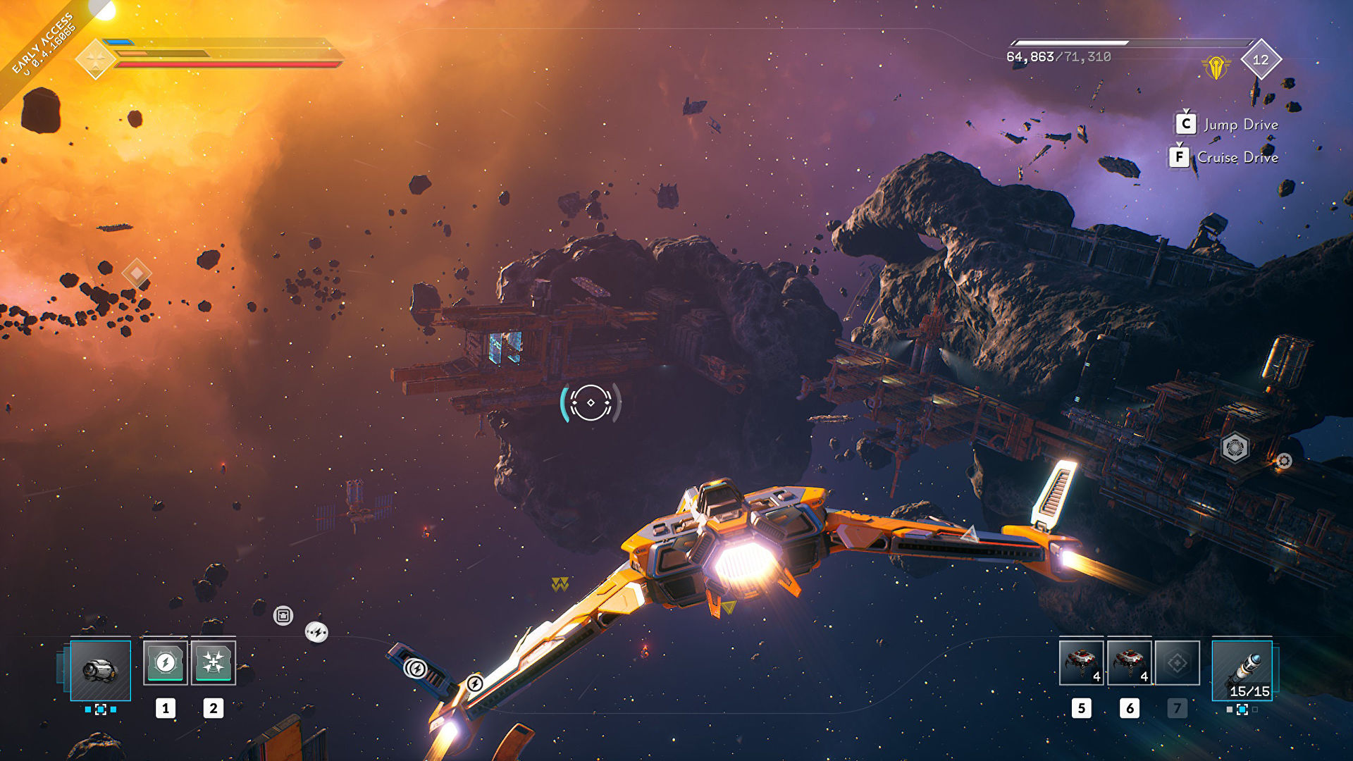 Spaceship looter shooter Everspace 2 has launched into early access