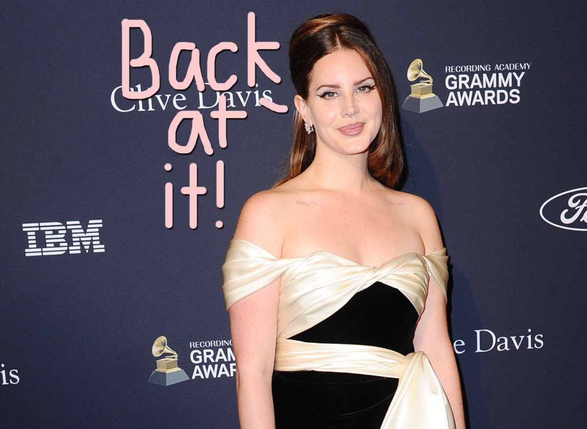 Lana Del Rey Gets Defensive Over New Album Visuals, Claims She's 'Literally Changing The World'