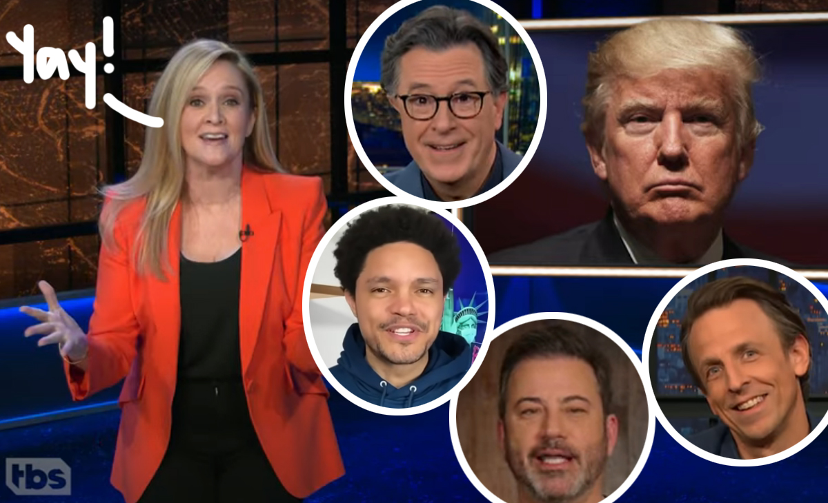 Late Night Roundup! See What Relieved Hosts Had To Say About Biden's Inauguration & Trump's Exit!