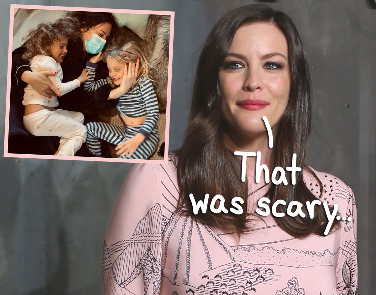 Liv Tyler Reflects On Her Scary Bout With COVID-19: 'It Comes On Fast, Like A Locomotive'