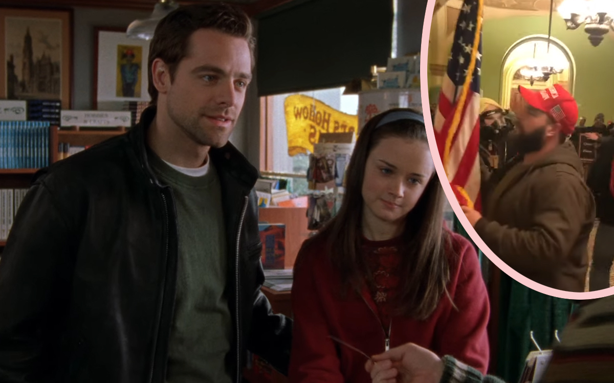 Gilmore Girls Star Denies Rumor He Took Part In Capitol Riots -- BUT His Response Is Not Good...