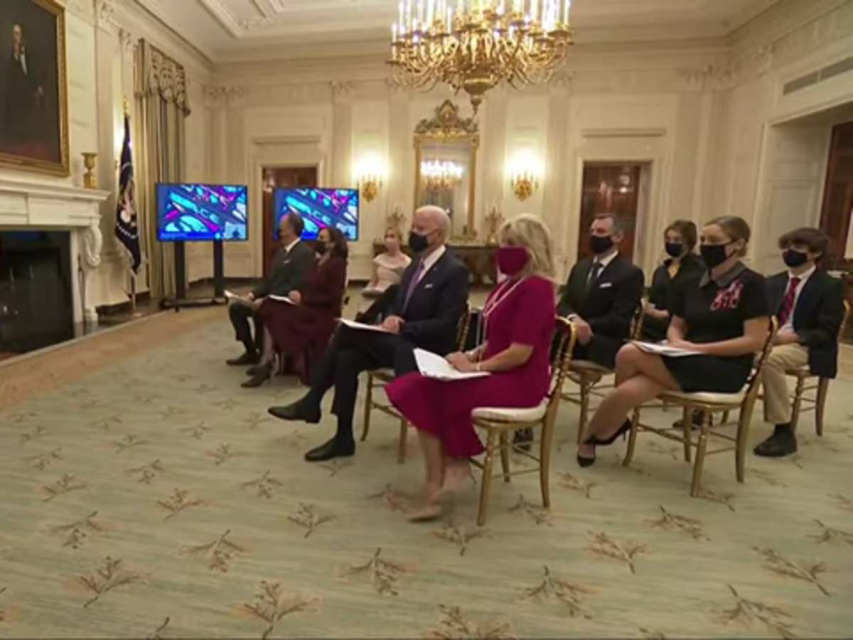 President Joe Biden Started His First Full Day In Office With An Interfaith, Virtual Prayer Service — Watch It Now