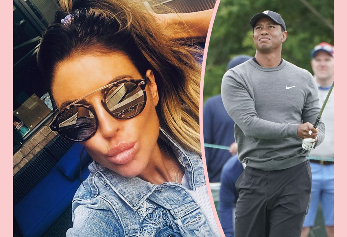 Rachel Uchitel Reveals HORRIFYING Things People Say To Her As Tiger Woods Documentary Continues