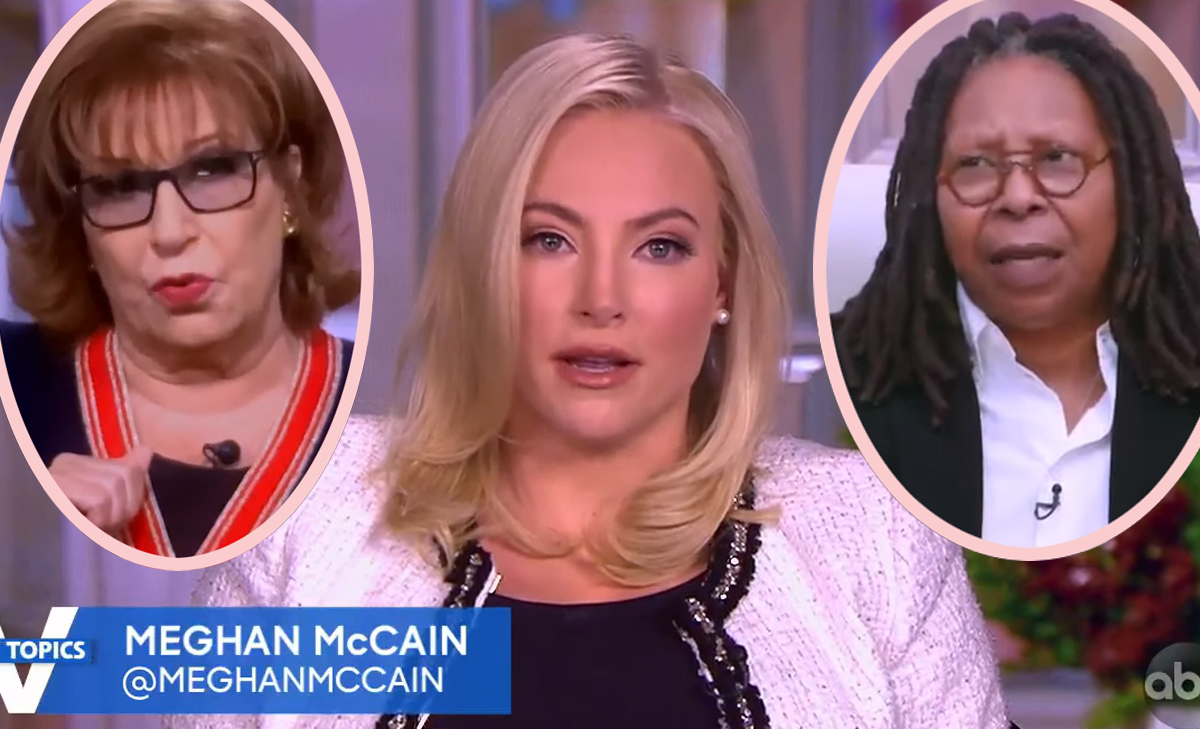 Meghan McCain 'Shook' By Spats With The View Co-Hosts -- As It's Revealed Ratings Were UP In Her Absence!