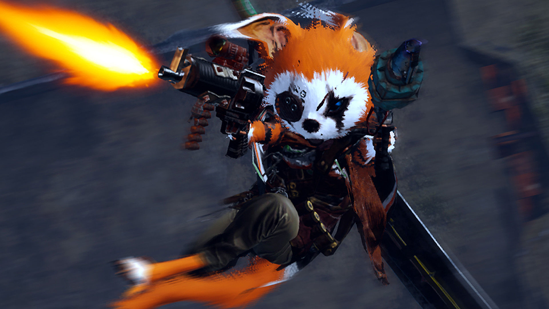 Furry martial arts RPG Biomutant gets release date