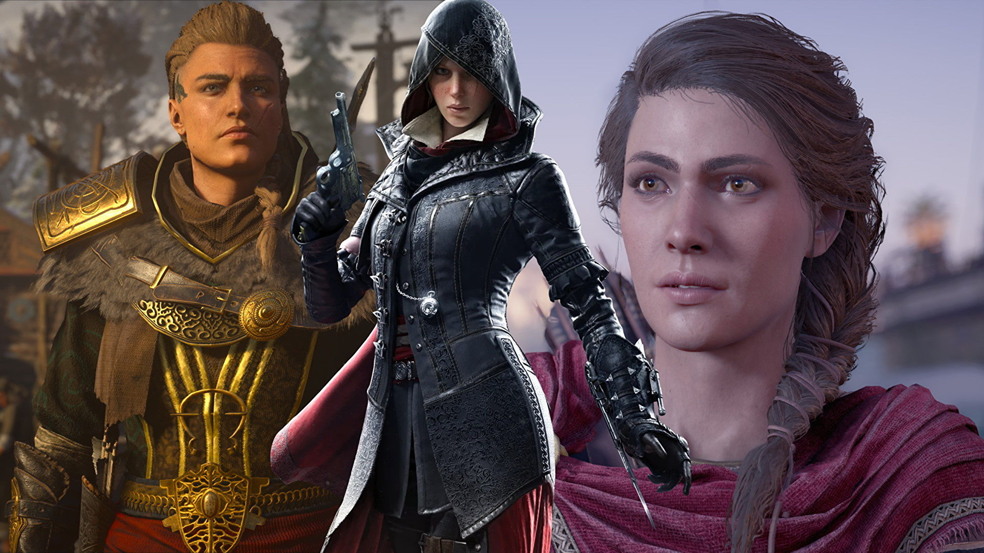 Give us the time-travelling gal pal Assassin's Creed TV show we deserve, you cowards