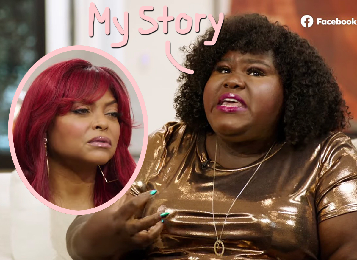 Gabourey Sidibe Talks About Fighting Depression & Bulimia: 'I Was Out Of Control'
