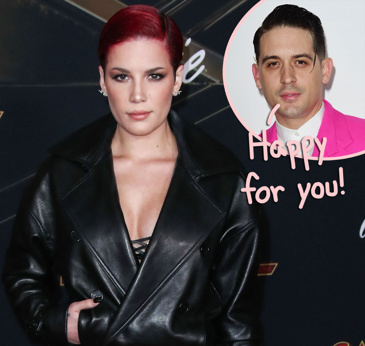 Here's How G-Eazy REALLY Feels About Halsey's Pregnancy — As She Shares Adorable Sonogram Picture!