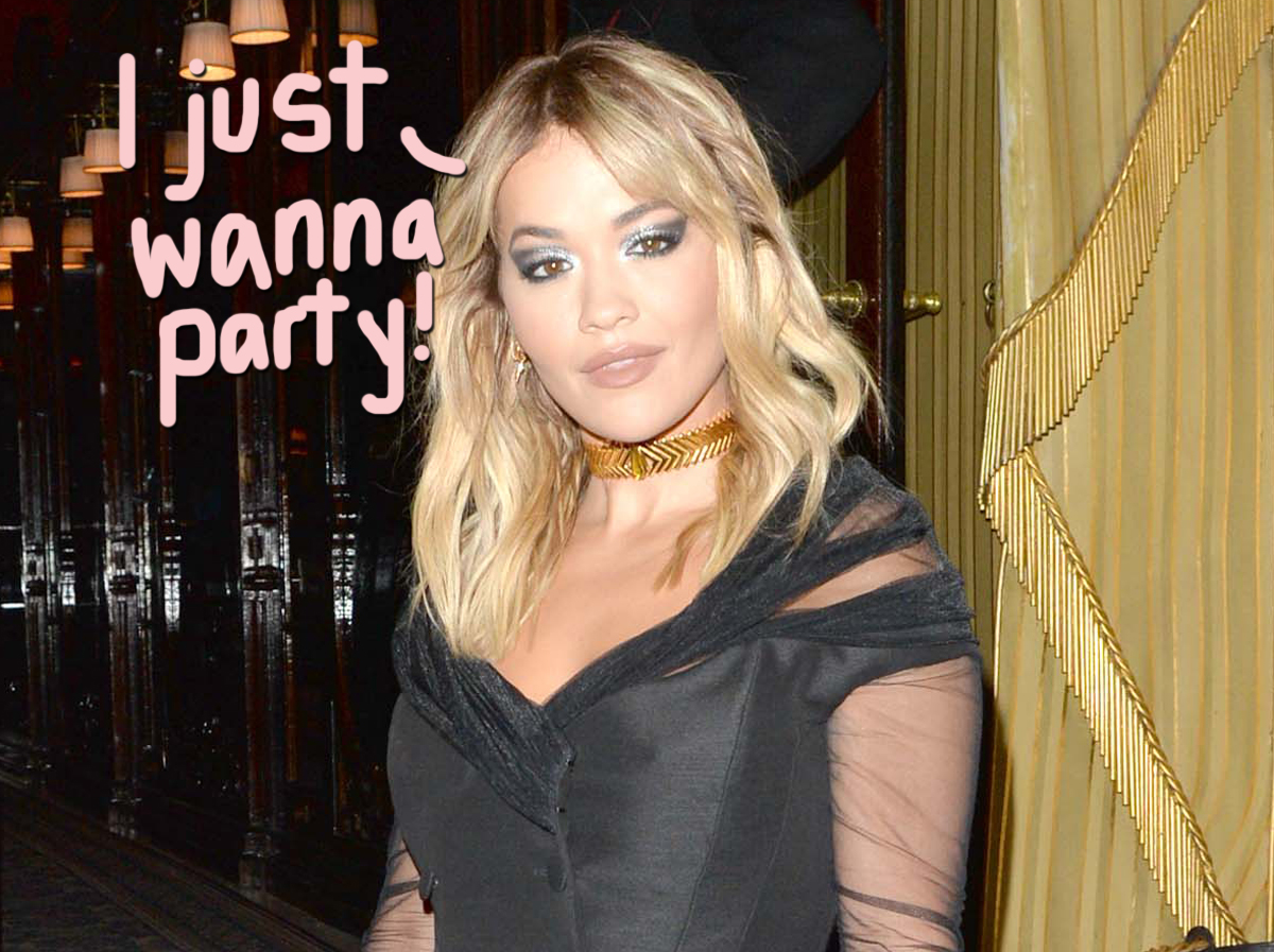 Rita Ora Bribed Restaurant With Nearly $7K To Break COVID Rules For Her Birthday Bash!