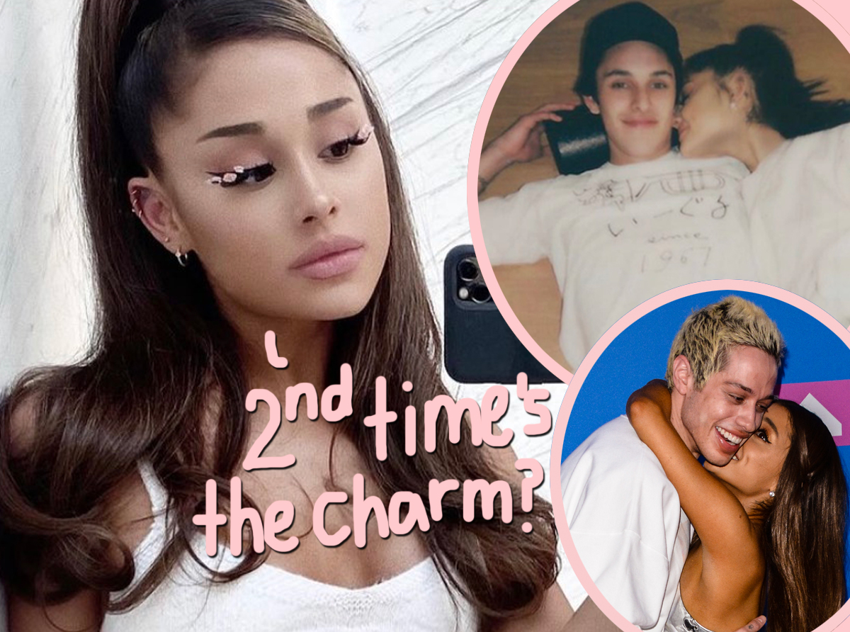 Did Ariana Grande Rush Her Engagement (Again)? Friends Think So!
