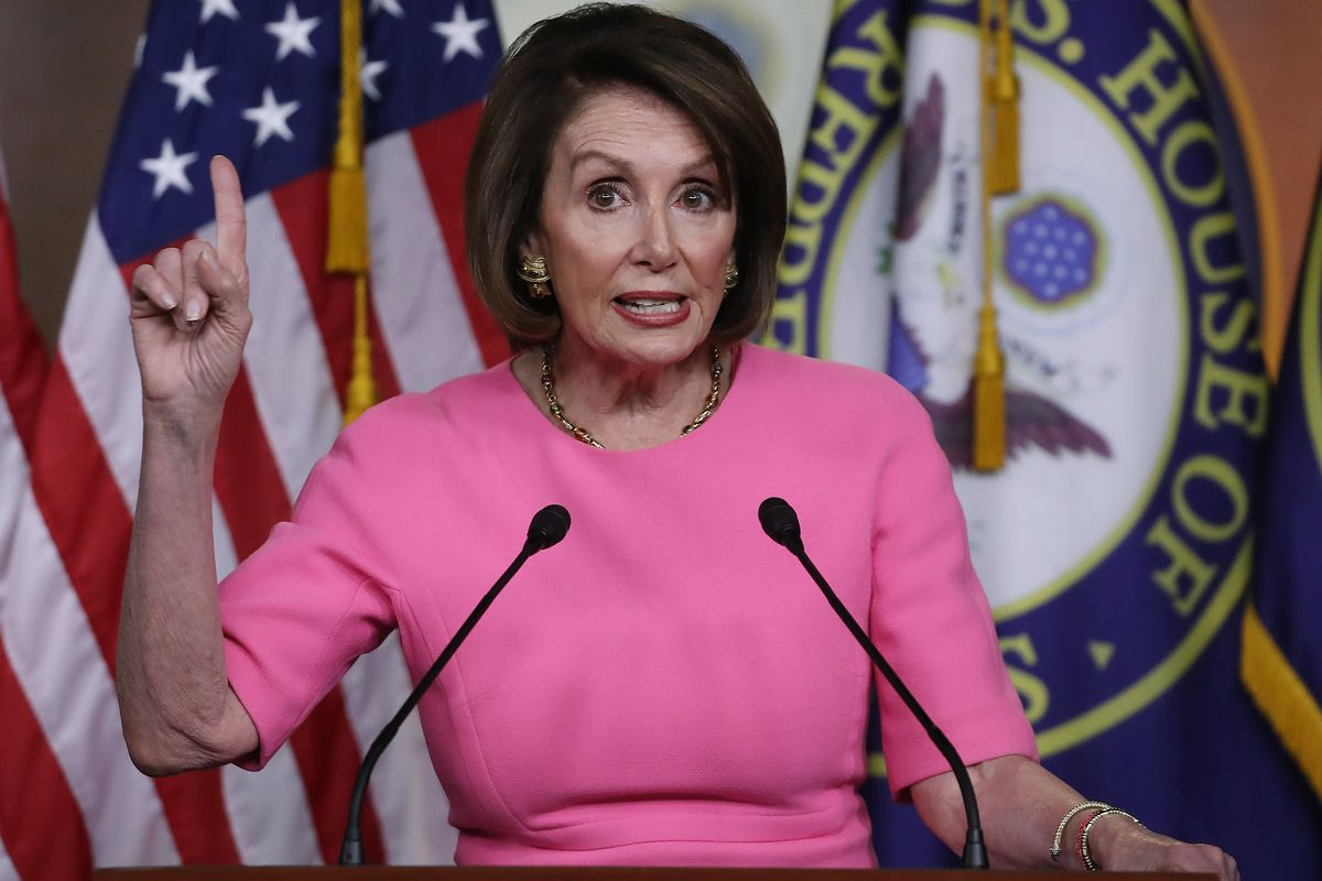 Nancy Pelosi Says 'Thank God' Donald Trump Is 'Gone' – Video!