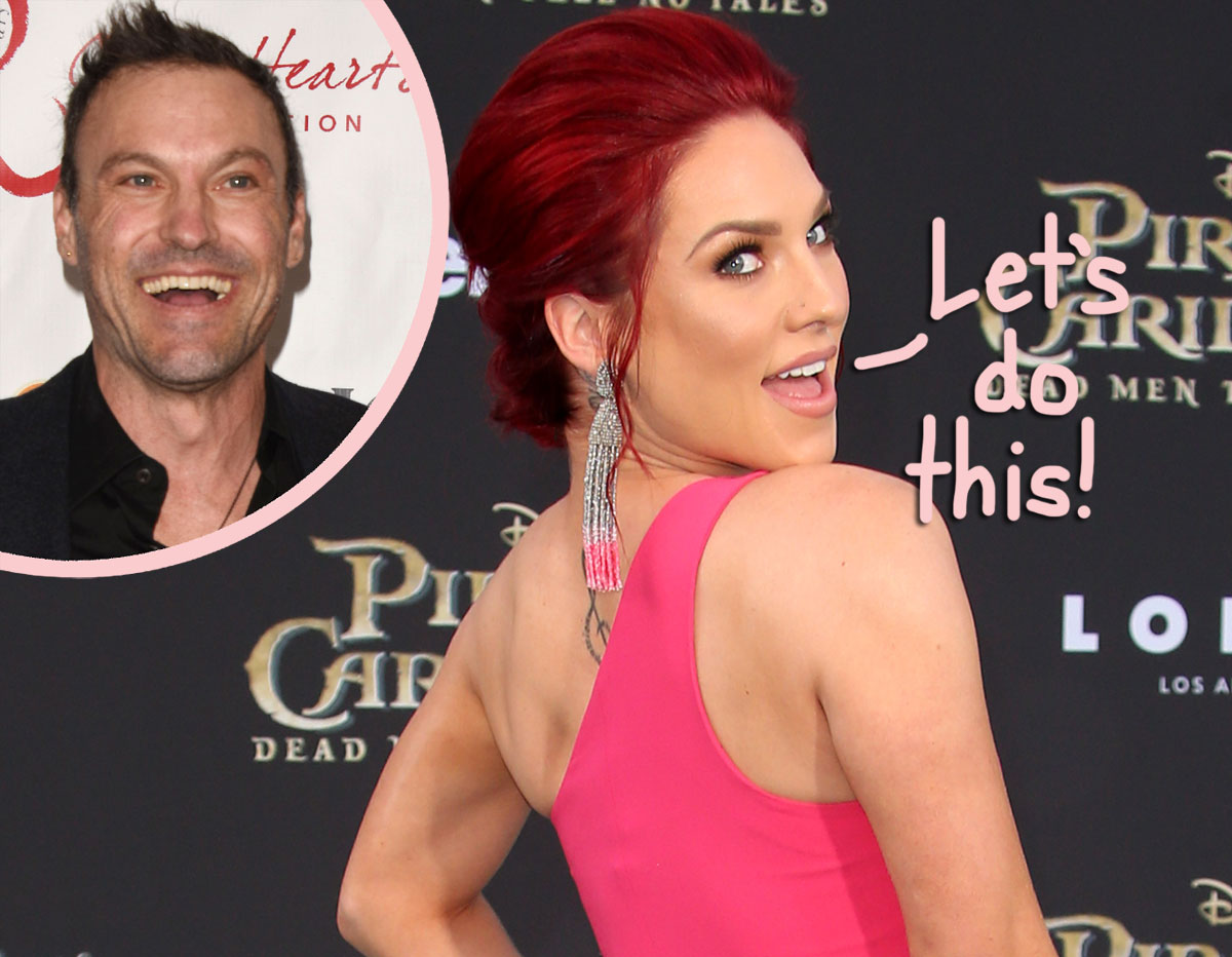 Sharna Burgess Goes Instagram Official With Brian Austin Green And The Pic She Chose Is THE CUTEST!