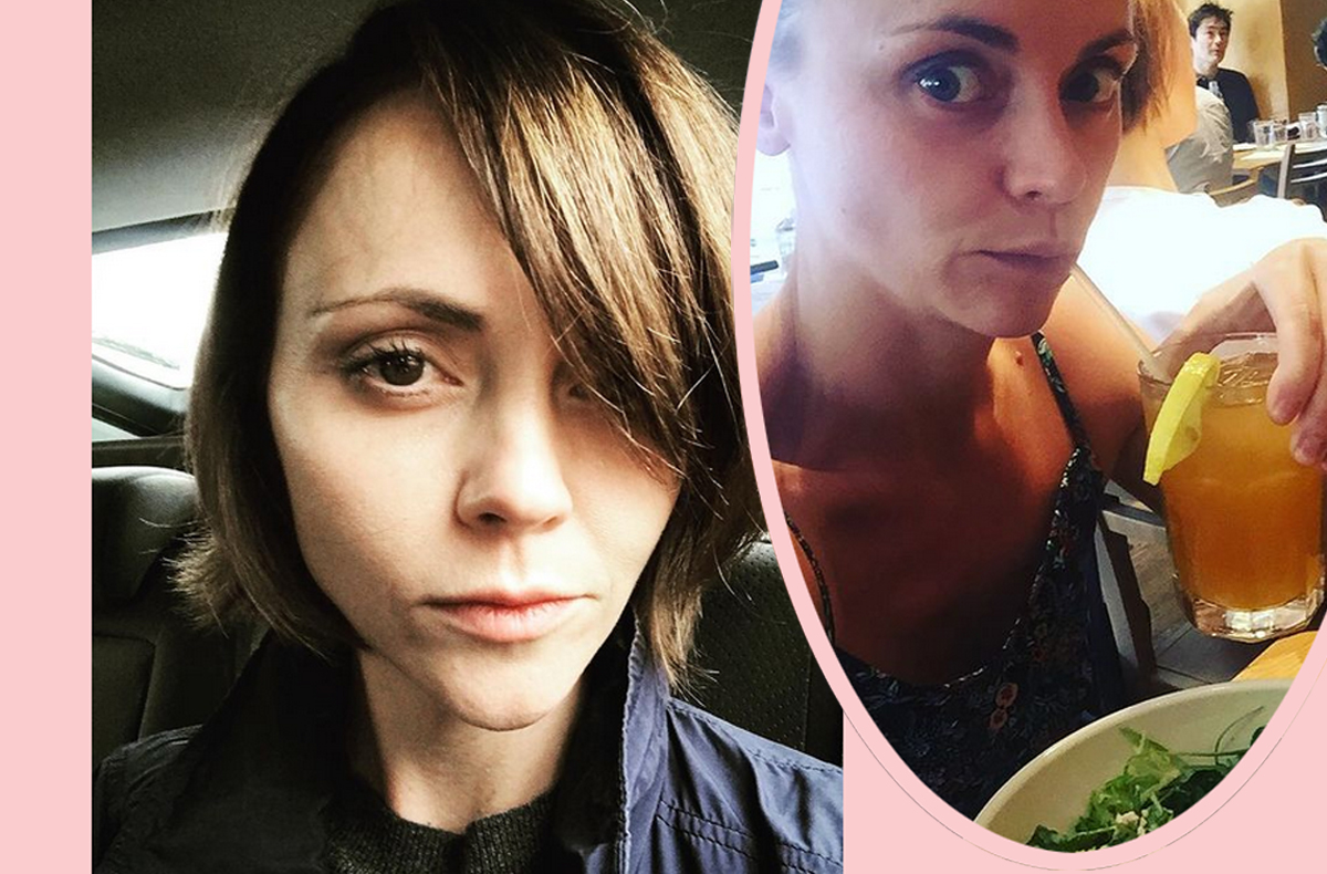 Christina Ricci's Estranged Husband Now Claims SHE Is An Abusive Drunk -- Who Injured Herself!