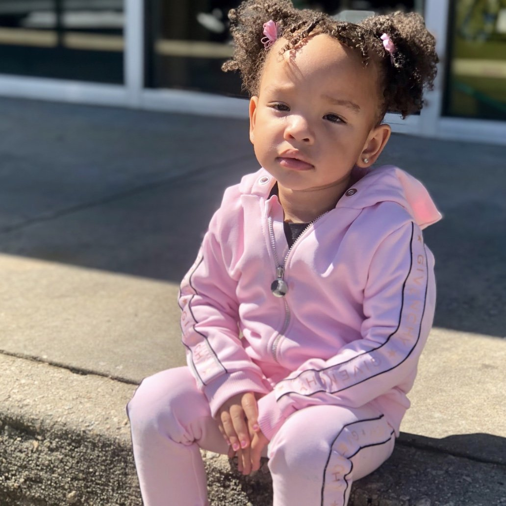 Heiress Harris Models For Tiny Harris And Fans Cannot Have Enough Of Her
