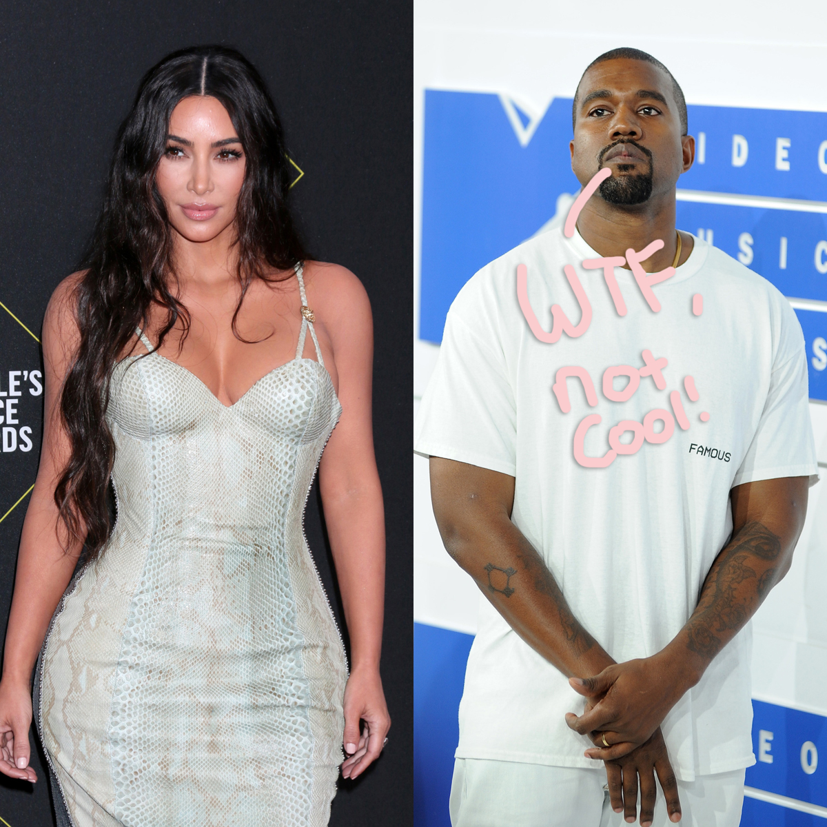 Marriage Issues Between Kim Kardashian & Kanye West Will Reportedly Be Featured On KUWTK!!
