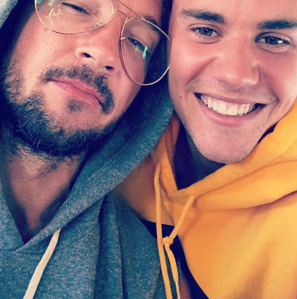 Justin Bieber and Carl Lentz before he got caught