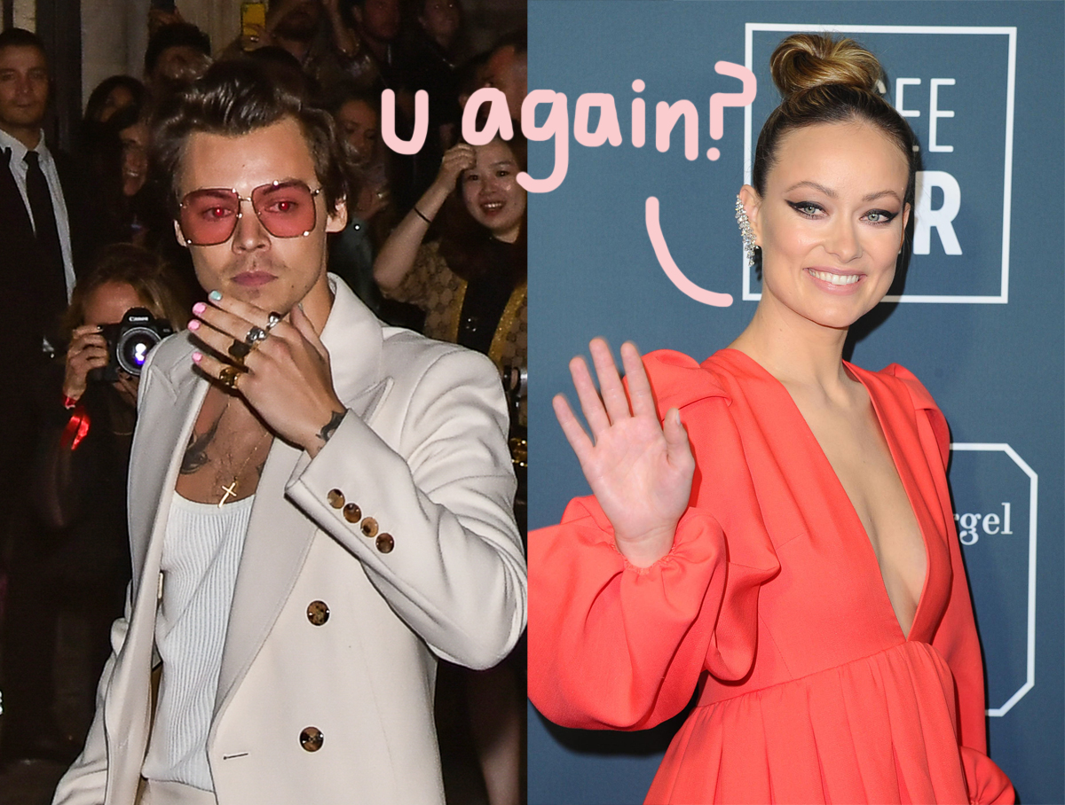 'He Visited Her Trailer': How & When Harry Styles & Olivia Wilde Started Dating