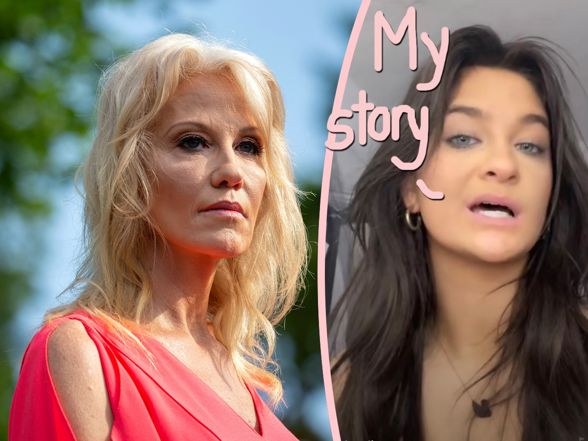 Claudia Conway Posts TikTok Compilation Of Mom Kellyanne Calling Her An 'Ungrateful Bitch' -- And MORE