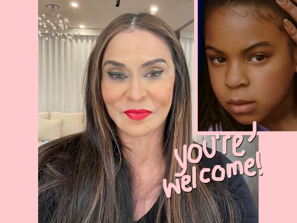 Blue Ivy Carter Is A Makeup Artist! See The Look She Did For Grandma Tina!