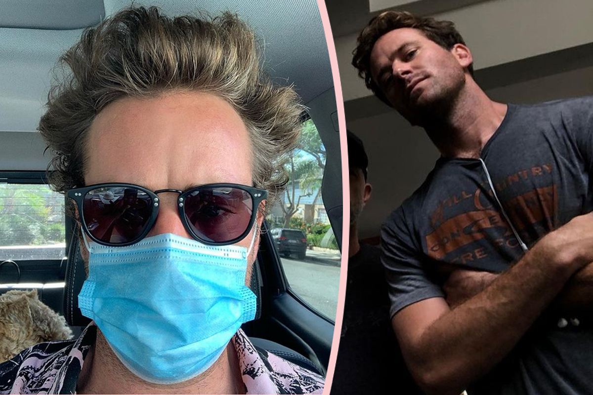 Armie Hammer Allegedly Has Secret IG Account -- With MORE Disturbing Stuff On It!