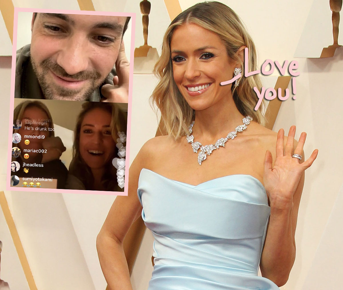 Kristin Cavallari & Jeff Dye Exchange The L-Word During Live Video Chat! Oh SNAP!