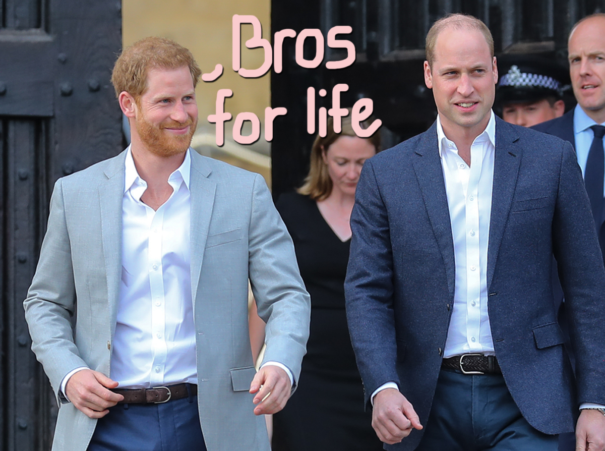 Are Prince William And Prince Harry Mending Fences? A Trip To California Is Apparently On The Table!