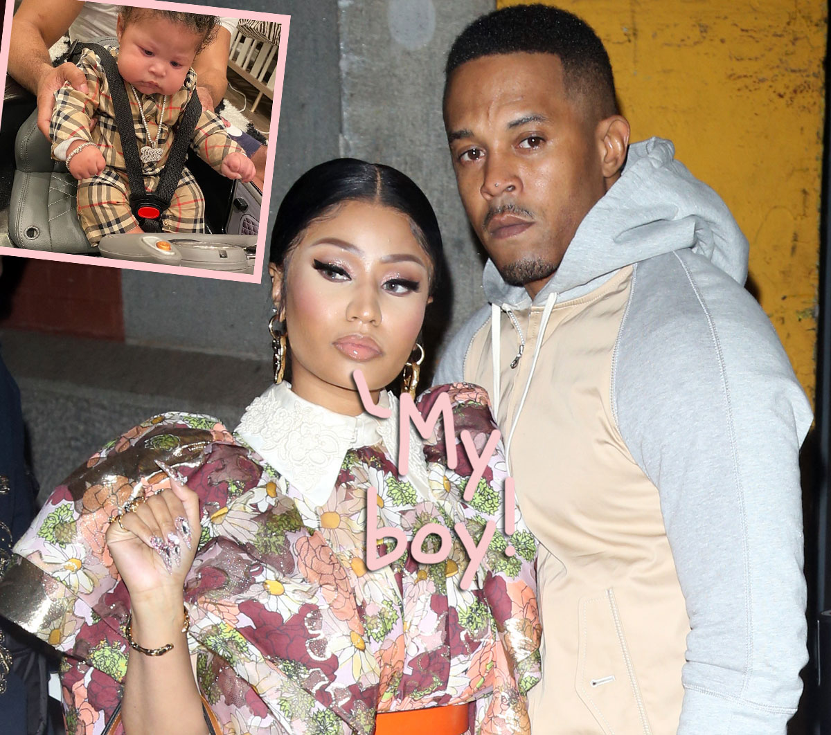 Nicki Minaj Shares New Photos Of Her Son, Thanks Him 'For Choosing Me To Be Your Mama'
