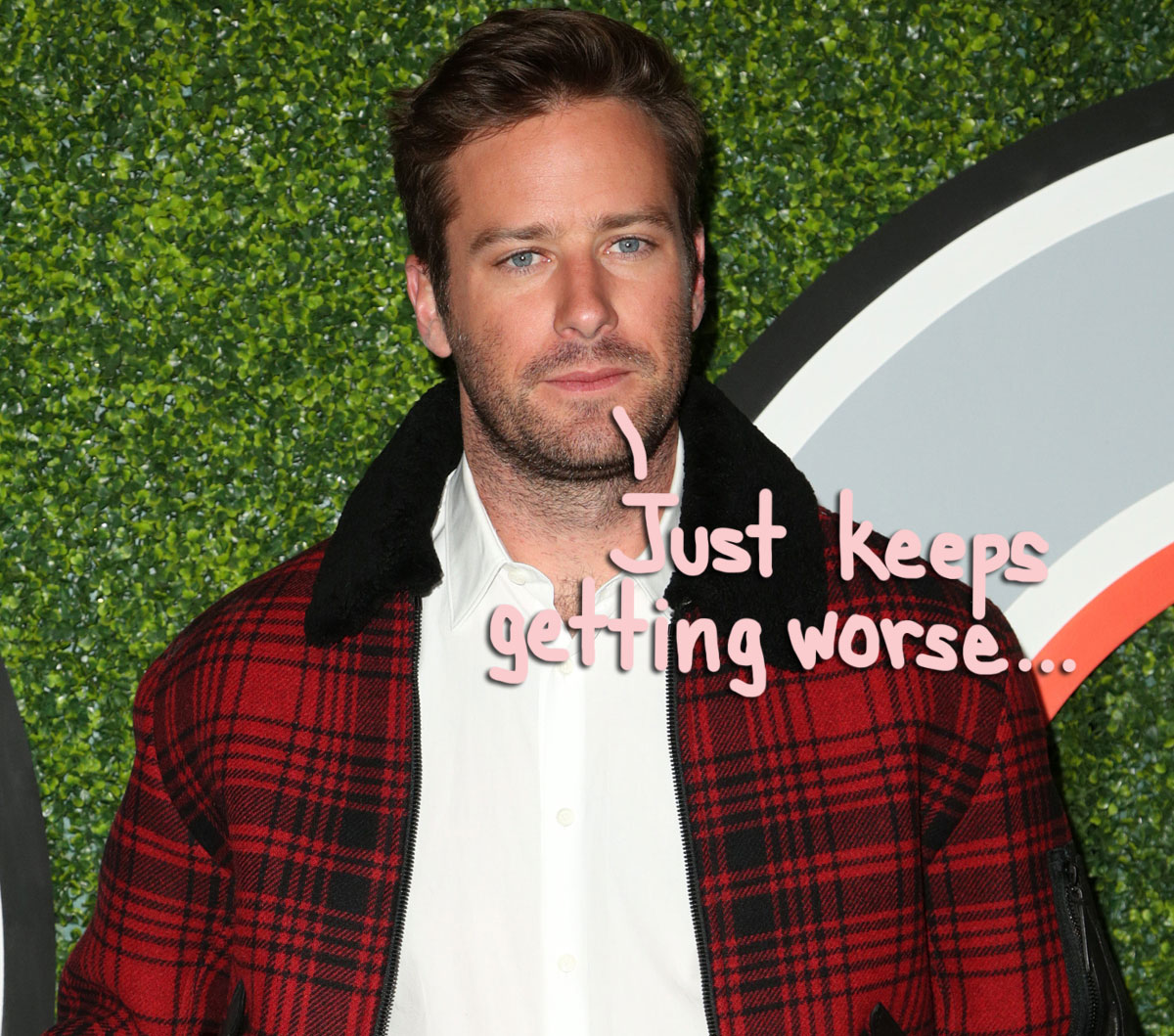 Armie Hammer Confirms THAT Finsta Account & Apologizes For Referring To Lingerie-Clad Woman In Video As 'Miss Cayman'