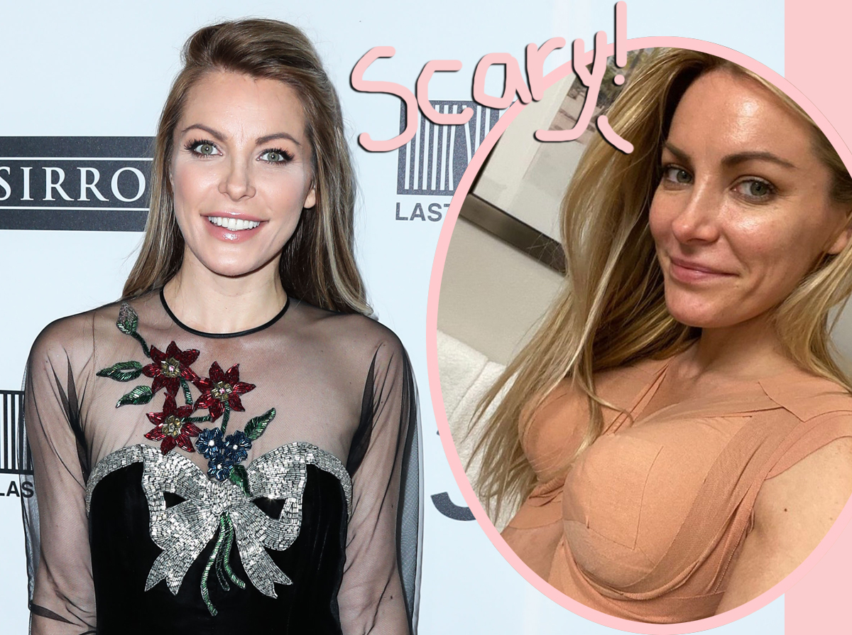 Crystal Hefner Reveals She Almost Died During A Recent Fat Transfer Surgery!
