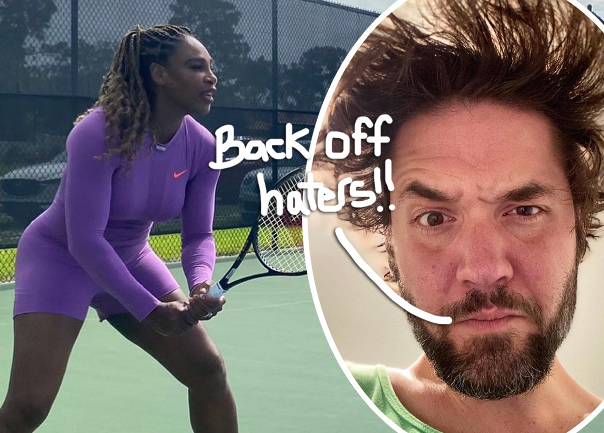 Alexis Ohanian Calls Out 'Racist/Sexist Clown' After Rude Comments About Serena Williams' Weight