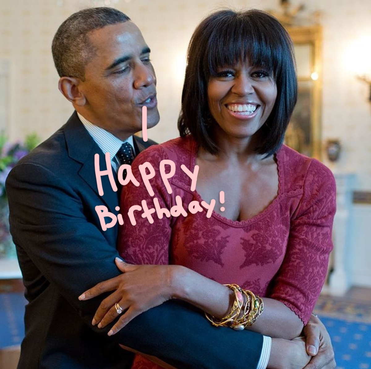 Barack Obama Shares A Sweet Message To Michelle Obama For Her BDAY!