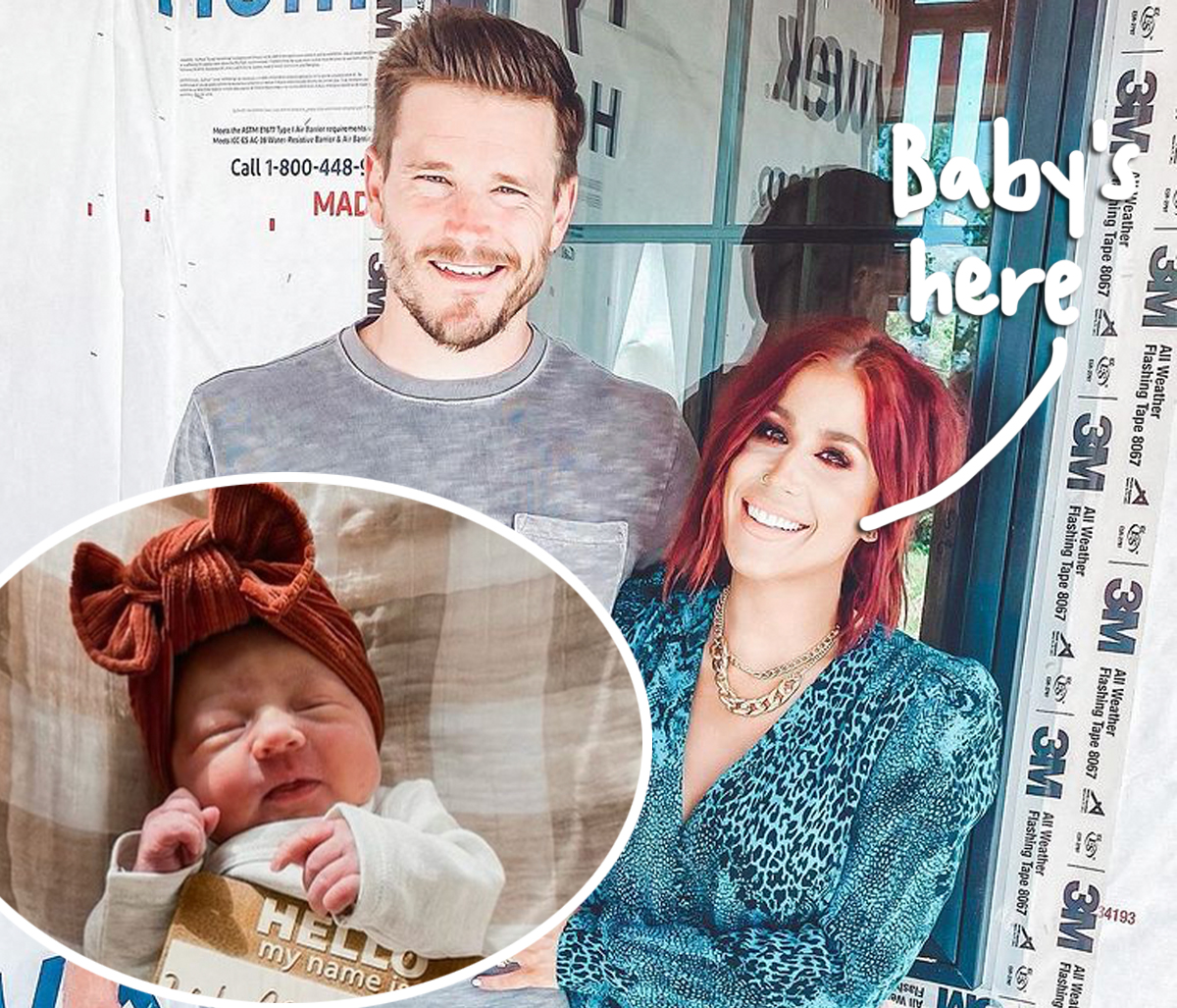 Teen Mom 2 Alum Chelsea Houska Gives Birth To Baby No. 4! Her Name Is...