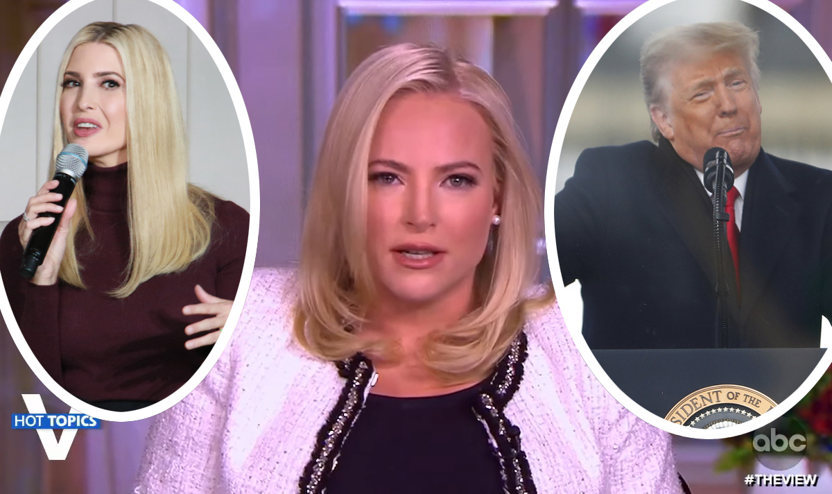 Meghan McCain Goes Off On Trump AND Ivanka Along With 'Scum Of The Earth' DC Rioters