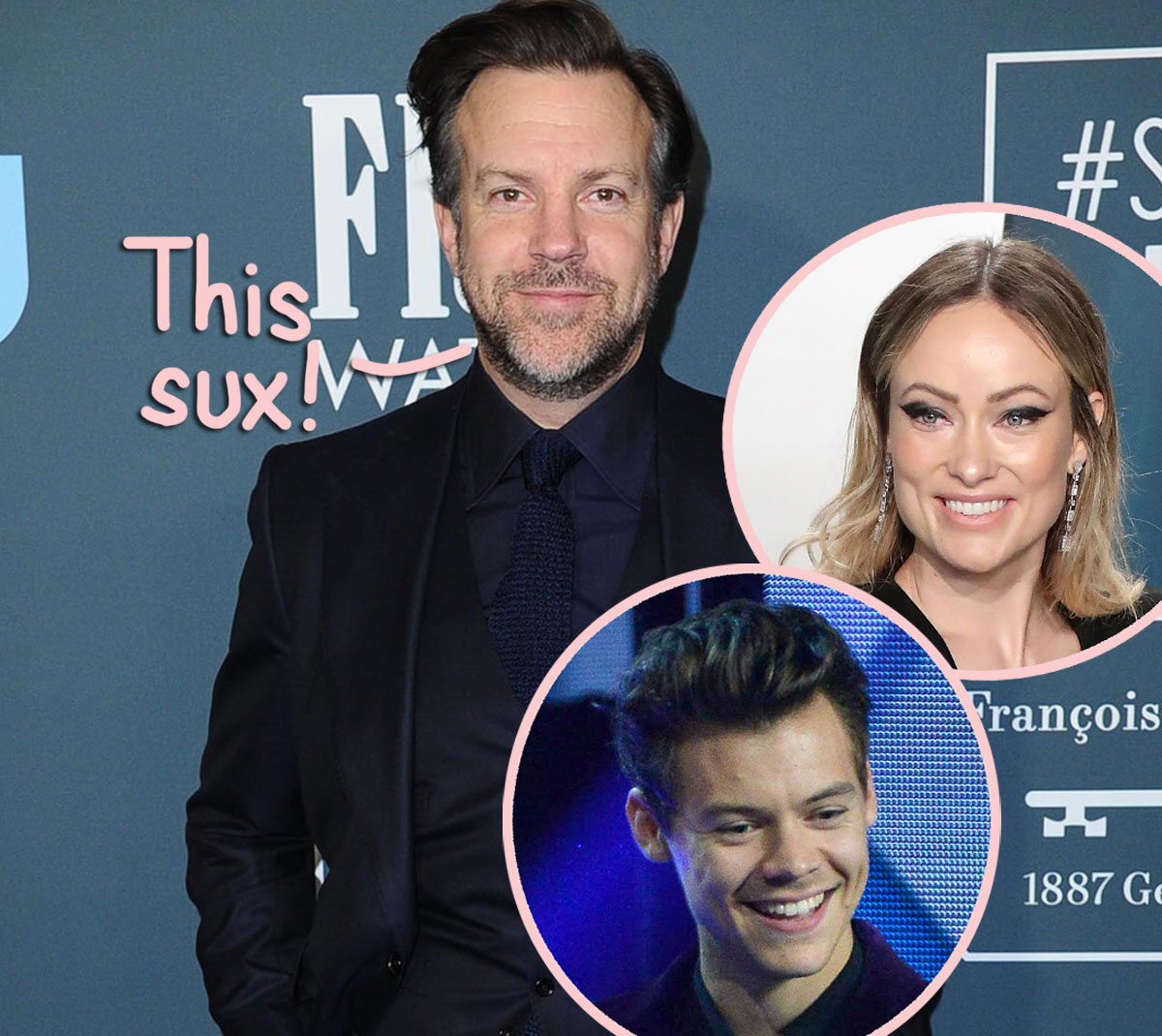Jason Sudeikis Is Reportedly 'Broken' Over Olivia Wilde's New Romance With Harry Styles