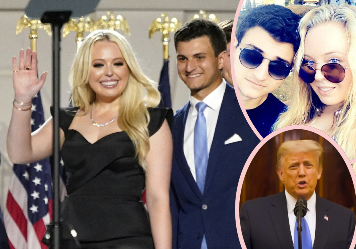 Tiffany Trump Is Engaged -- Makes Oddly Timed Announcement In Farewell Speech!