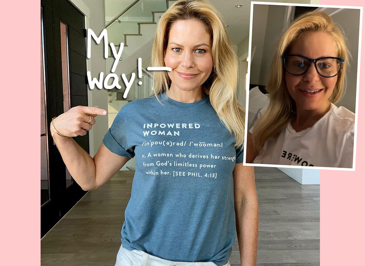 Candace Cameron Bure Schools Fans Who Are 'Disappointed' In The Accounts She Follows On Social Media!