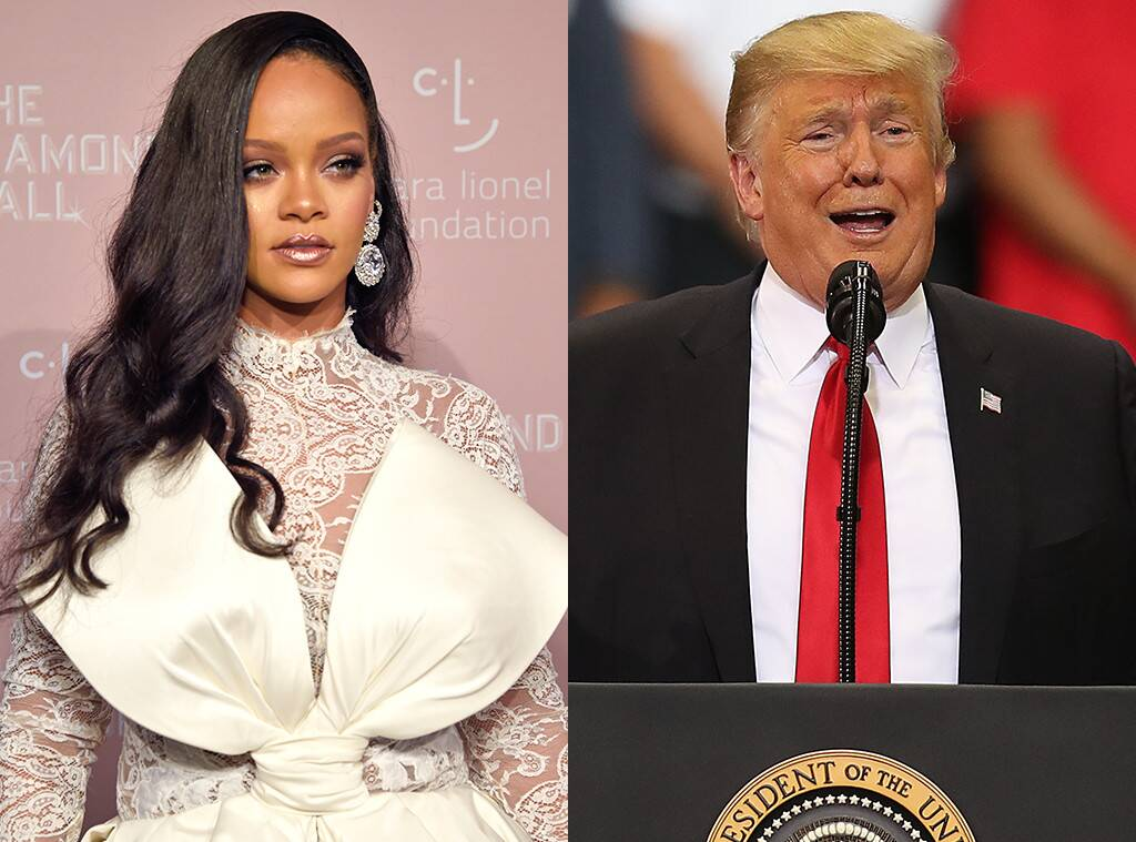 Rihanna Takes 'Trash' Donald Trump Out In A New Hot Pic – Check It Out!