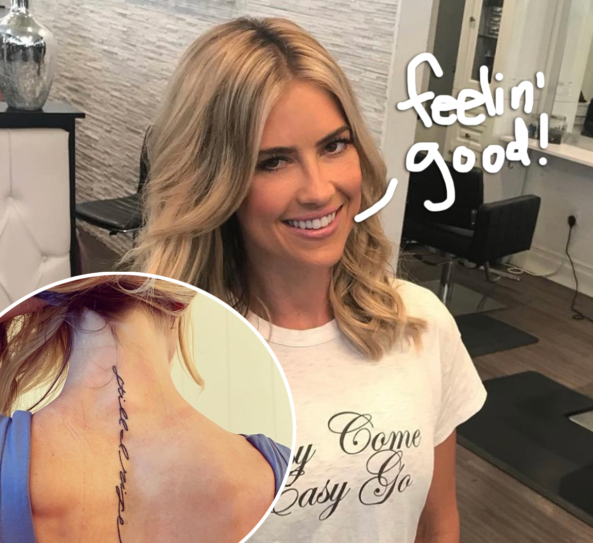 Christina Anstead Reveals Inspiring New Tattoo Amid Divorce From Ant Anstead!