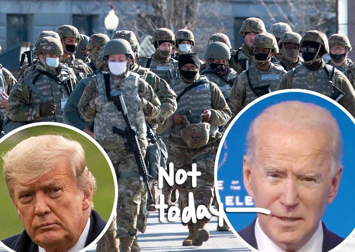 National Guard Removes 2 Members From Inauguration Security After Finding Ties To Far-Right Militia Groups!