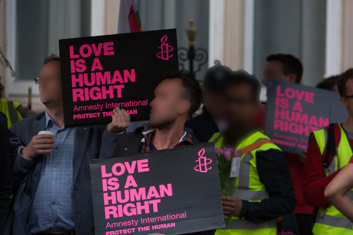 AWFUL!! Two Men Accused Of Gay S*x Publicly Flogged 77 Times In Indonesia!!