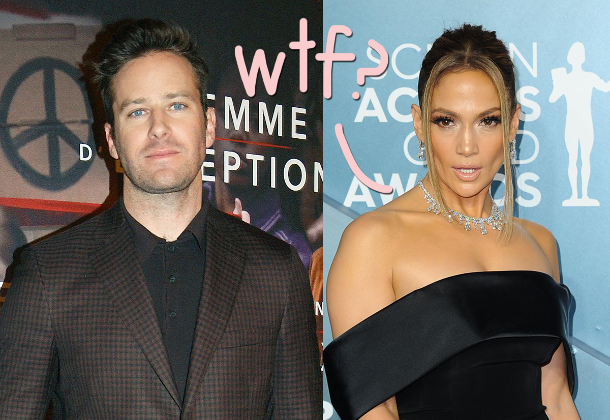 Armie Hammer Finally Responds To Cannibalism/Rape DM Controversy — And Quits J.Lo Movie!