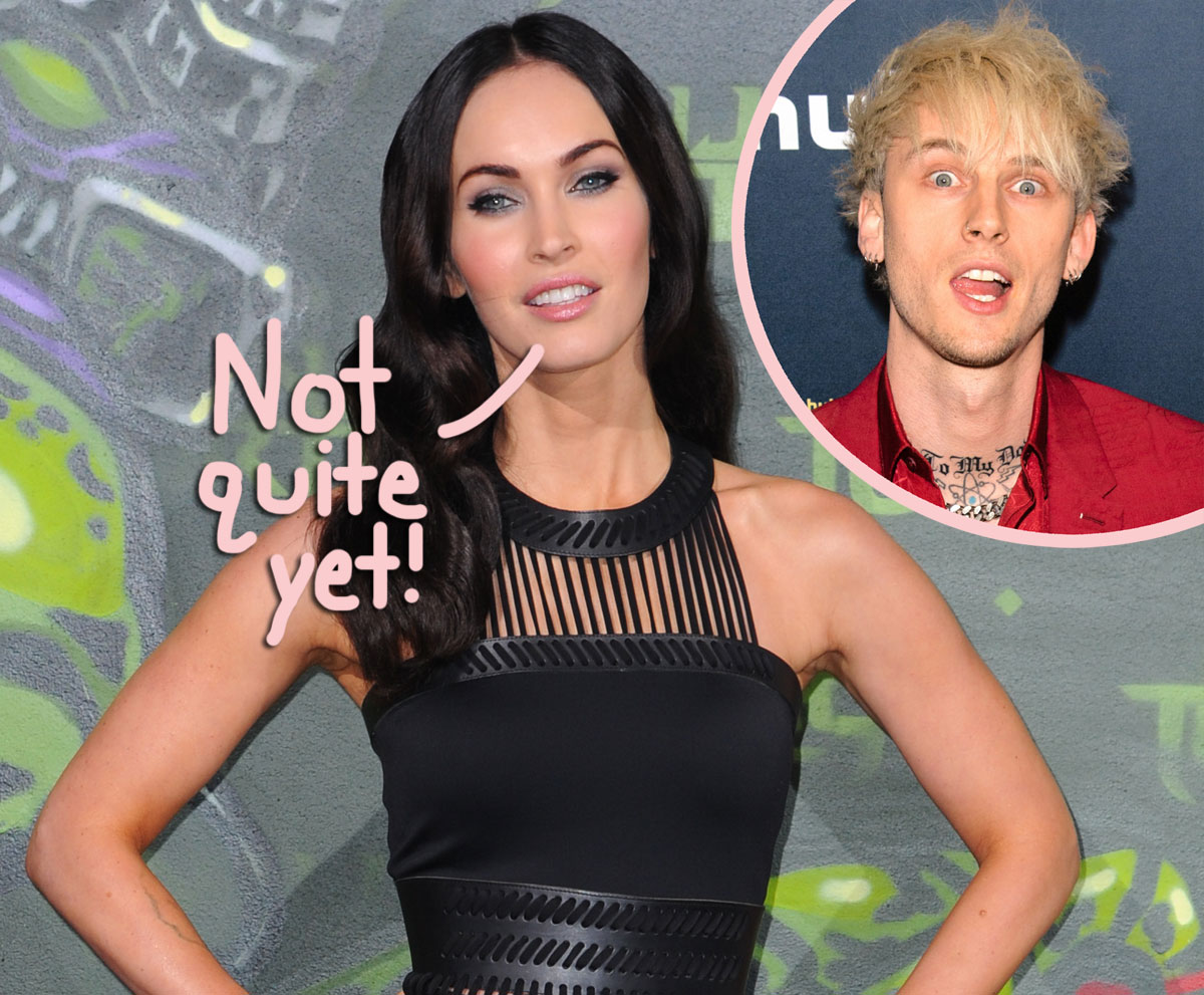 Megan Fox & Machine Gun Kelly Are 'Very Serious' But 'They Are Not Engaged Now'