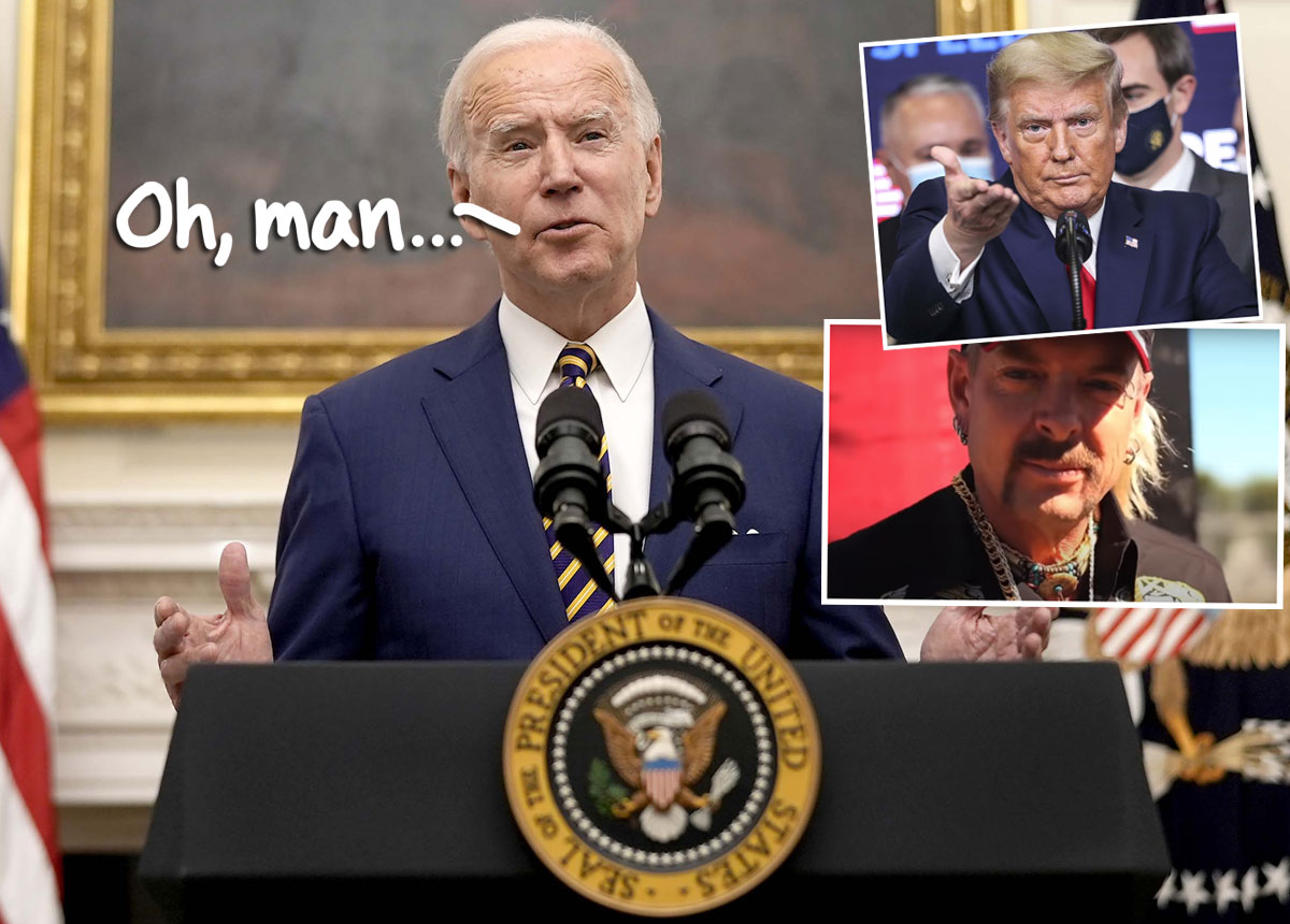 Tiger King Star Joe Exotic Is STILL Asking For A Pardon -- This Time, From Joe Biden!