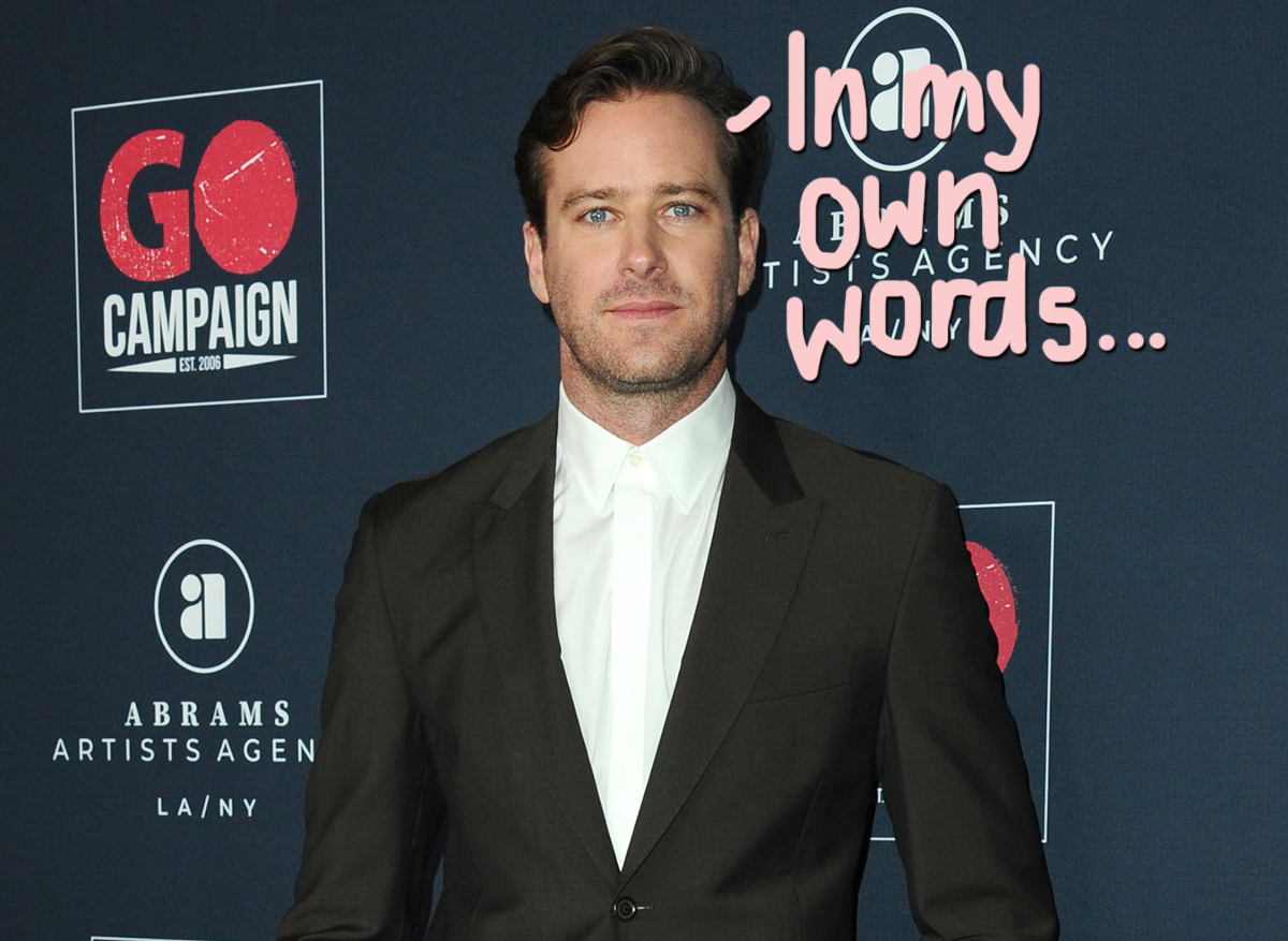 Armie Hammer's Past Comments About S*x Resurfacing Amid 'Cannibal' Controversy!