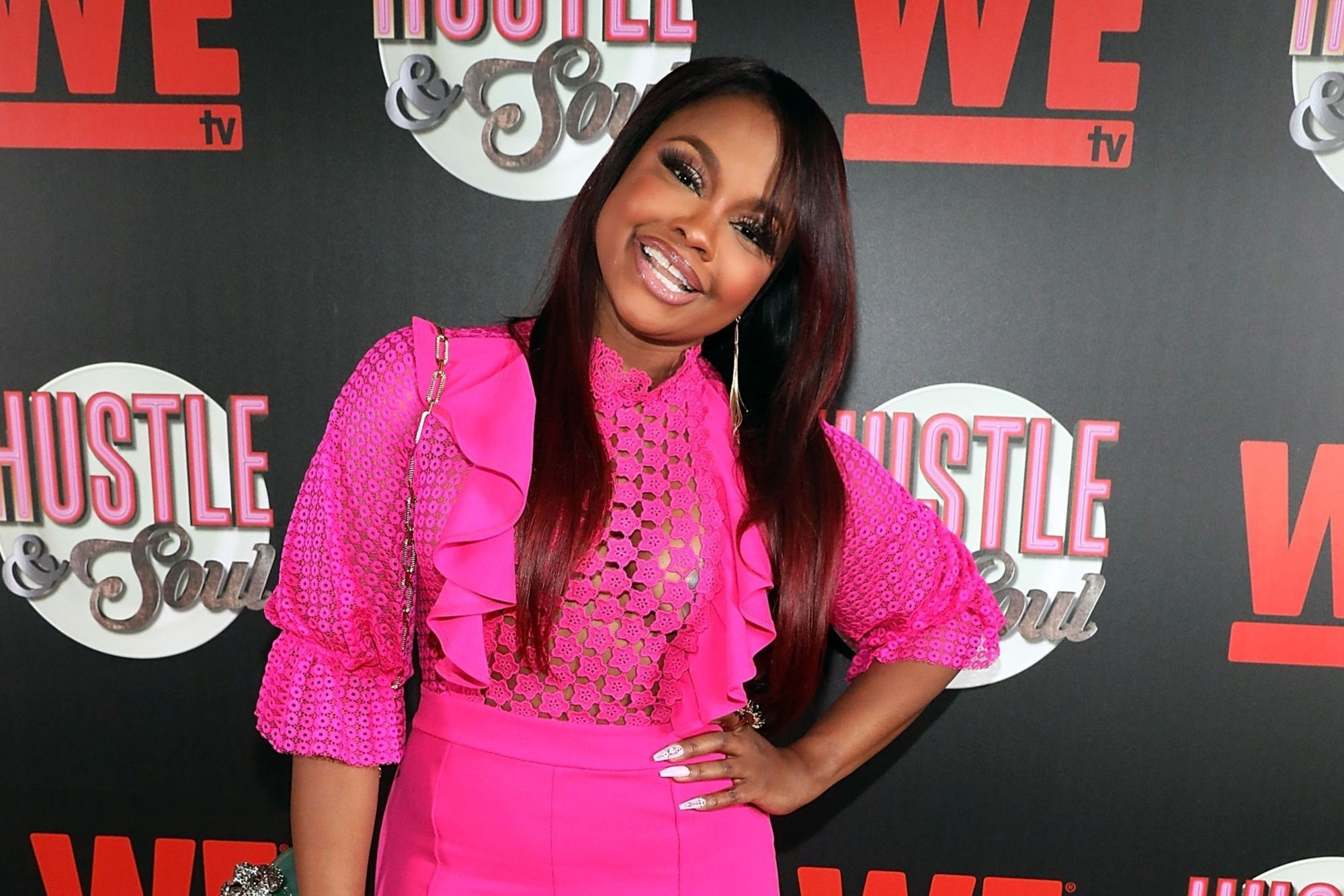 Phaedra Parks Shows Fans How She's Walking Into The Weekend