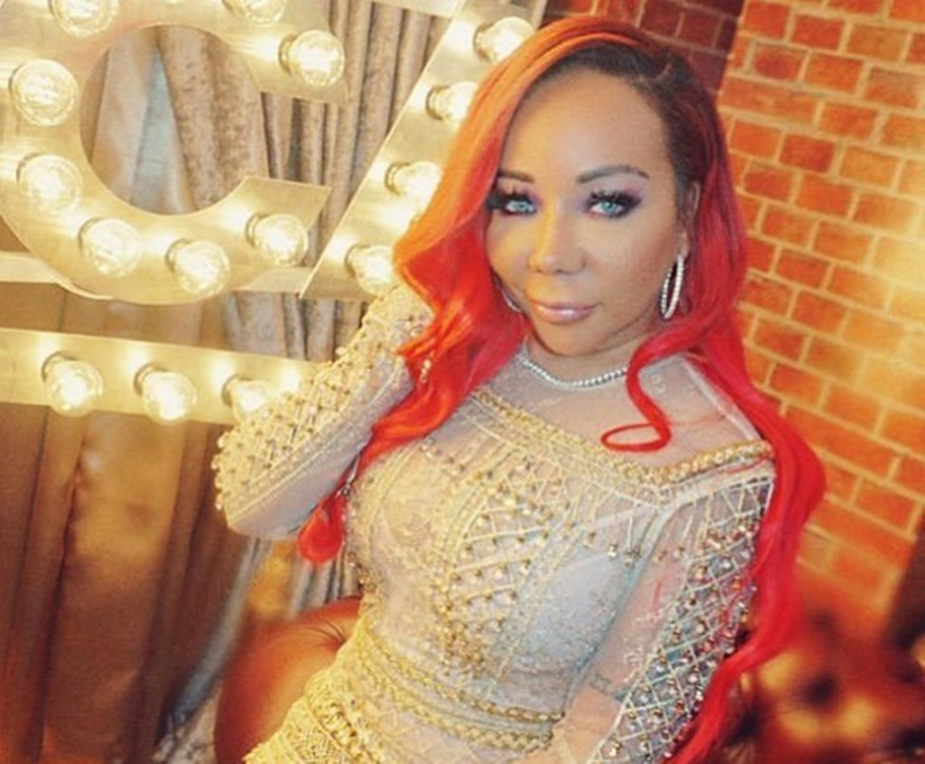 Tiny Harris Is Slaying In This Latex Black Outfit – See Her Photo Here