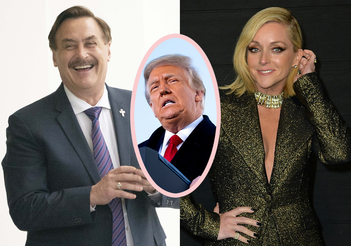 30 Rock Star Jane Krakowski Had An Affair With The MyPillow Guy?!?