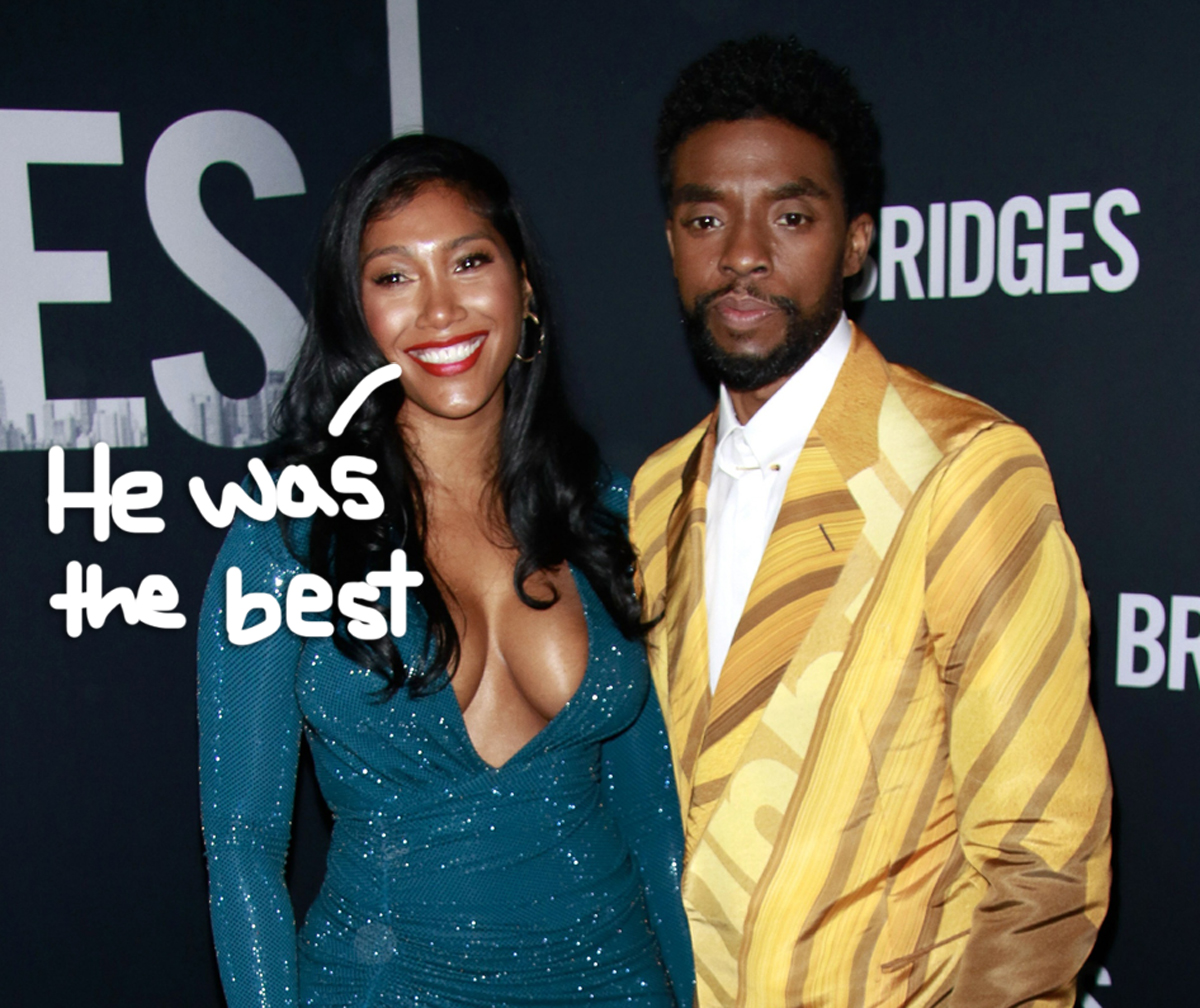 Chadwick Boseman's Wife Says She's 'So Proud' Of Him In Moving Gotham Awards Speech