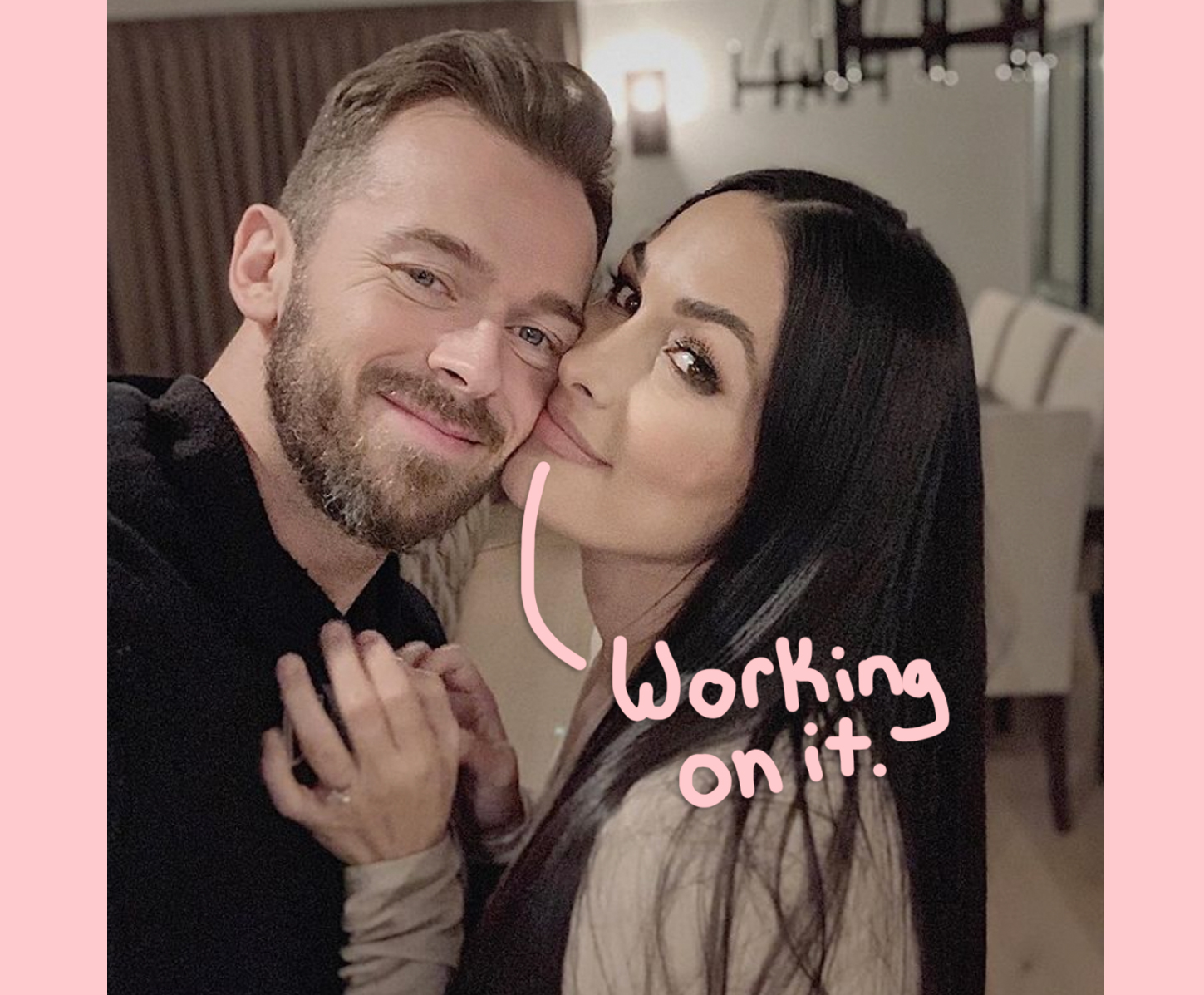 Nikki Bella Reveals She & Fiancé Artem Chigvintsev Are In Couples Therapy!